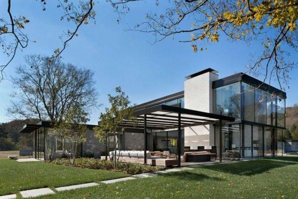 casa-moderna-con-fachada-transparente