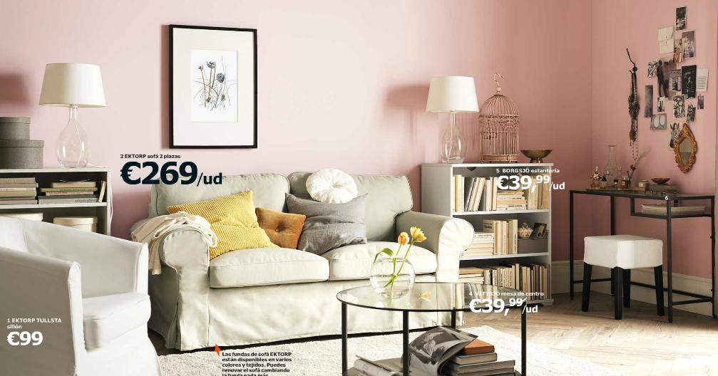 Catalogo de ikea 2015 salon muebles claros for Muebles para salon ikea