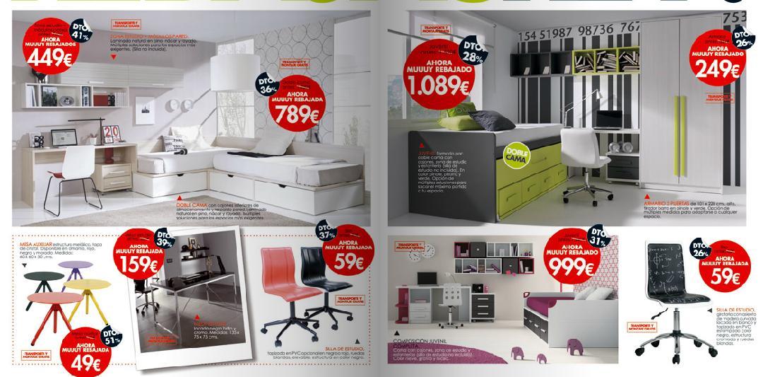 Catalogo de muebles rey 2015 dormitorios juveniles - Habitaciones juveniles muebles rey ...