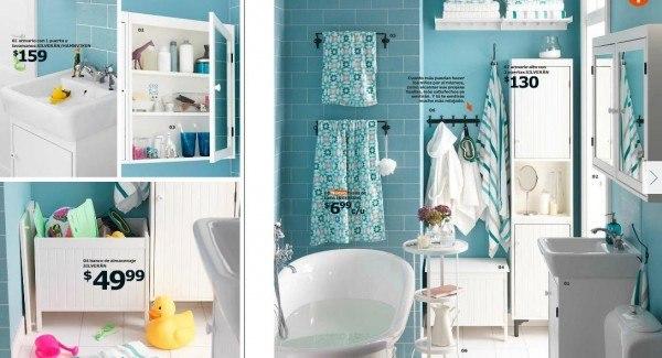 catalogo-ikea-2015-cocinas-y-baños-modelo-baño-moderno-con-bañera-color-azul