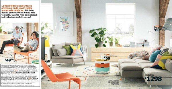 catalogo-ikea-2015-salon-y-dormitorios-salon-con-cama-sofa