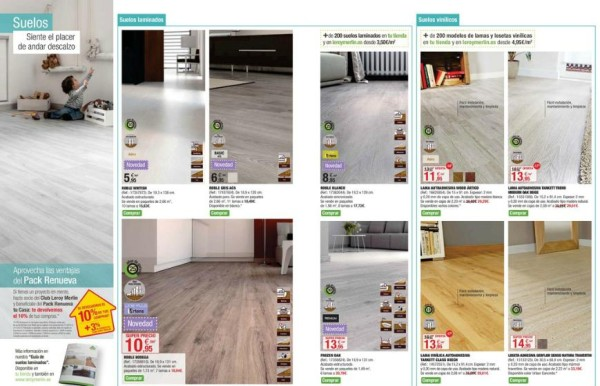 Suelos laminados leroy merlin opiniones gallery of suelos - Precio instalacion tarima flotante leroy merlin ...