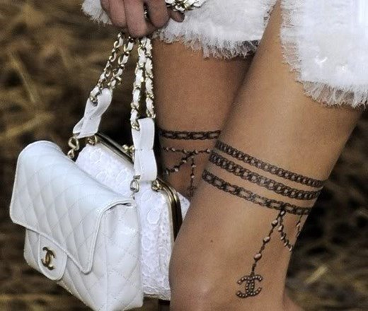 Chanel tatuajes