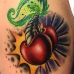 cherry tattoo 2
