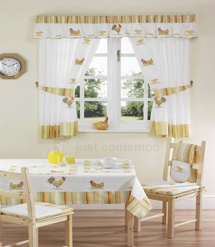 Sweet Life Curtains - Kitchen - All - Discount Curtains | Curtain