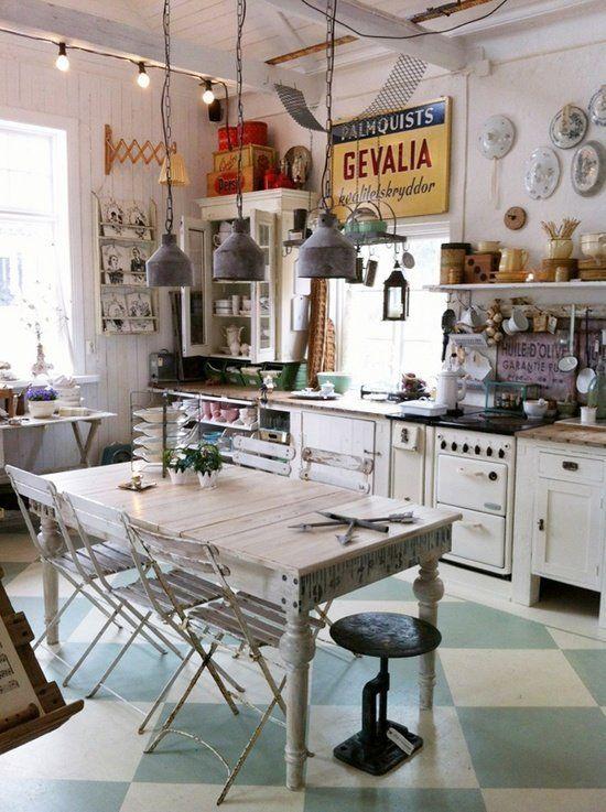 cocina vintage 2015