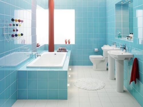 Decorar Un Baño Azul:Cómo decorar un baño pequeño – DecoracionInterioresnet