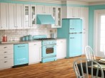 Decoración para una cocina vintage