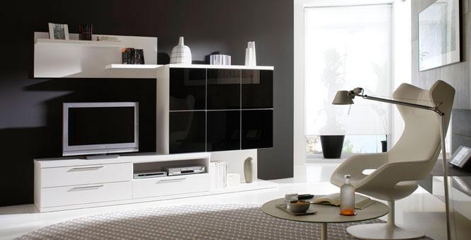 Comedor decorado en blanco y negro for Comedor blanco y negro
