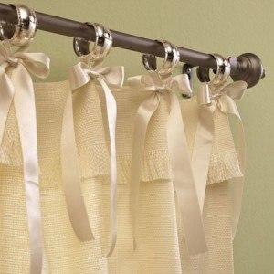 Decorar cortinas Cortinas romanticas