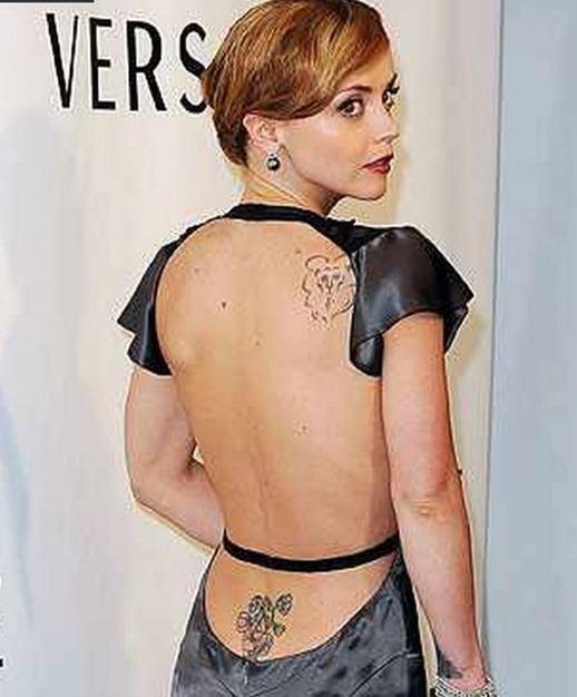 Los Tatuajes De Cristina Ricci Tendenziascom
