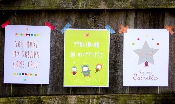 cuadros-infantiles-para-decorar-laminas-de-menudos-cuadros