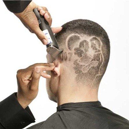 Tatuajes en el pelo