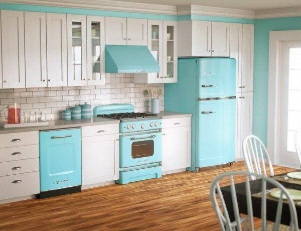 Decoración para una cocina vintage   tendenzias.com