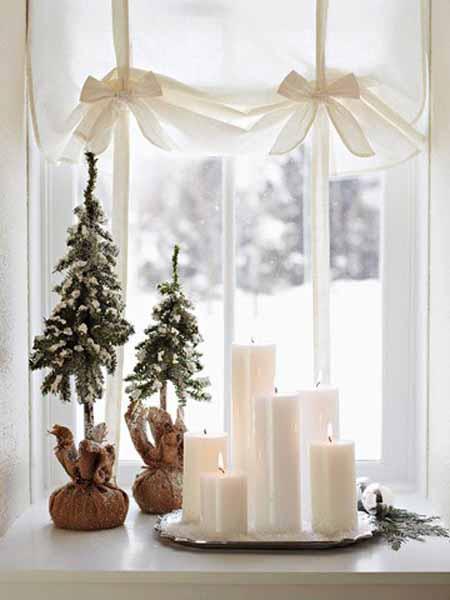 Plantillas Para Decorar Ventanas En Navidad.30 Ideas Para Decorar Ventanas En Navidad Tendenzias
