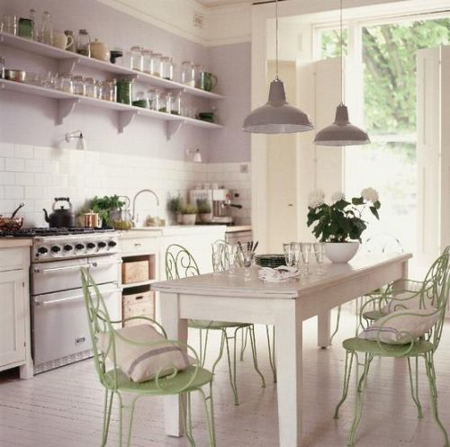 decoracion cocinas vintage