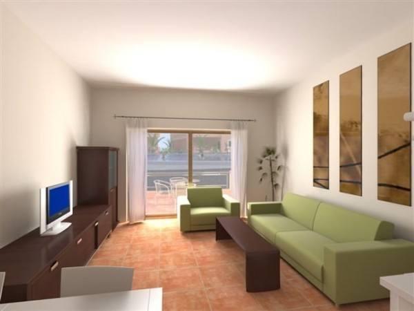 Decoraci n de salones peque os for Salones modernos para pisos pequenos