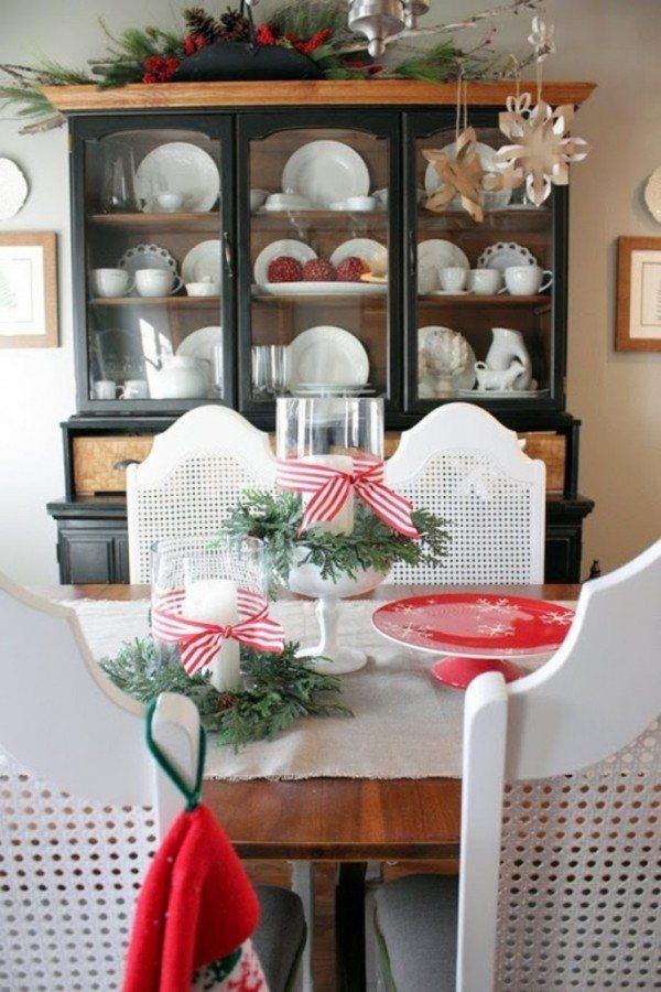 Decoraci n navide a 2018 para la cocina - Mesa navidena ...