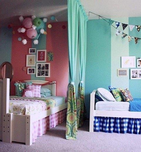 C mo decorar habitaciones compartidas for Articulos para decorar habitaciones
