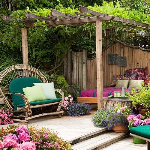 decorar-jardin