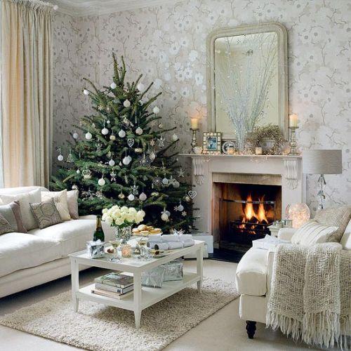 decorar-un-apartamento-en-navidad-2016-ideas-arbol-o-belen-arbol-pequeño-en-un-rincon
