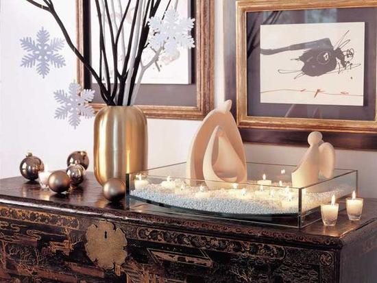 decorar-un-apartamento-en-navidad-2016-ideas-arbol-o-belen-belen-pequeño-minimalista