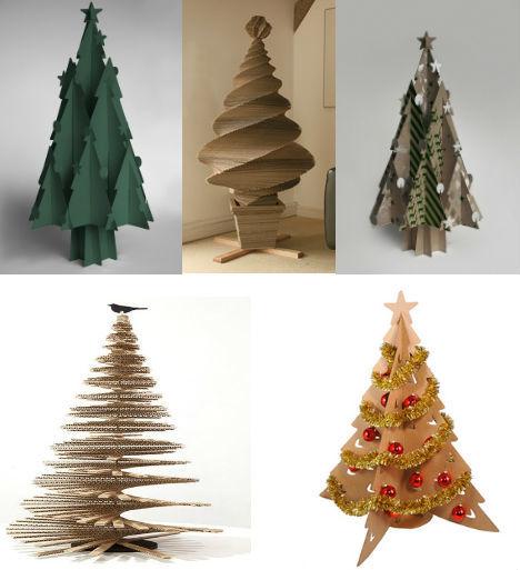 diseños-de-arboles-de-navidad-reciclados