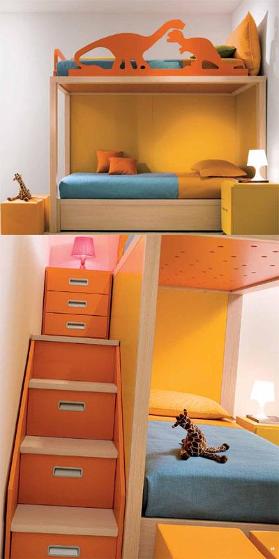 Dormitorios infantiles con un sello especial - Diseno de habitaciones infantiles ...