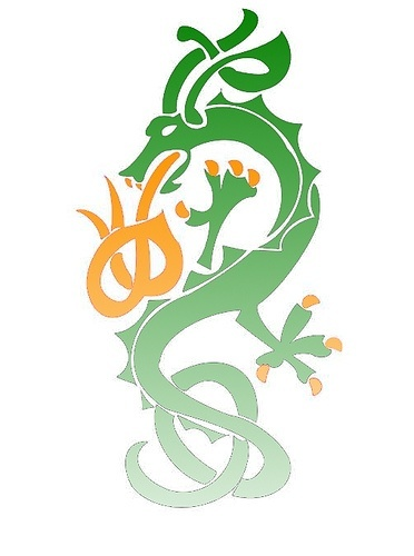 dragon-verde