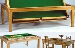 Balmoral Table, un pool escondido bajo la mesa
