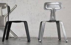 Sillas en aluminio prensado
