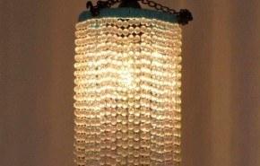Haz tu propia lámpara de brillantes