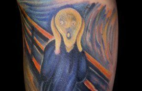 Skirik… un tatuaje sumamente artístico
