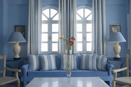 Cortinas para sala for Colores de cortinas para salon