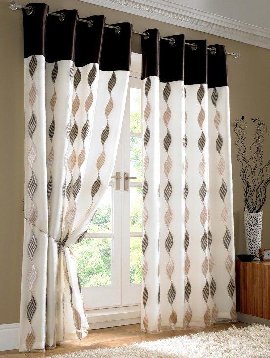 C mo elegir los modelos de cortinas - Visillos para salones ...