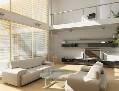 Entrepiso una forma de ganar espacio for Arredamento minimal moderno
