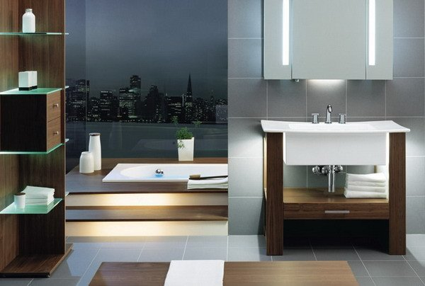 fotos-de-baños-de-lujo-estilo-moderno-con-vistas