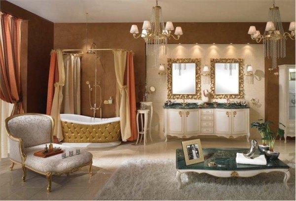 fotos-de-baños-de-lujo-modelo-vintage