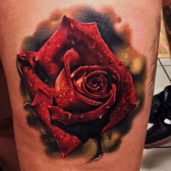 Fotos Tatuajes Tatuajes Rosas Realistas