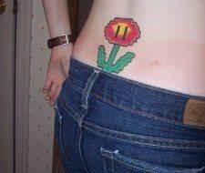 Diseño geek… la flor