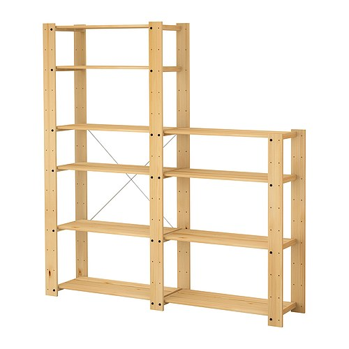 Decorar cuartos con manualidades estanterias de madera for Piscinas rectangulares desmontables decathlon