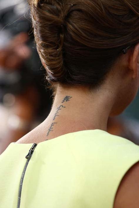 Tatuajes En La Nuca Tendenziascom