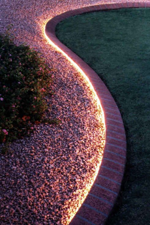 iluminacion de jardin