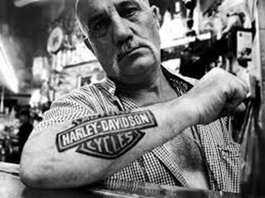 Harley Davidson tatoo
