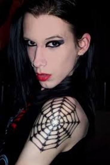 tatuaje de telarañas