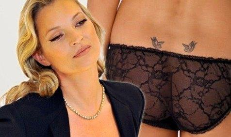 El tatuaje millonario de Kate Moss