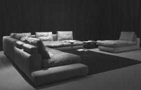 Majestuosos sofás Lagan