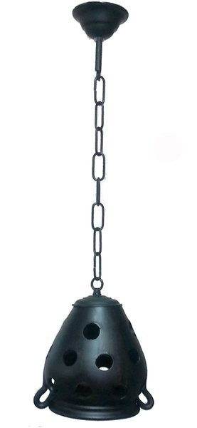 lampara rustica vasija