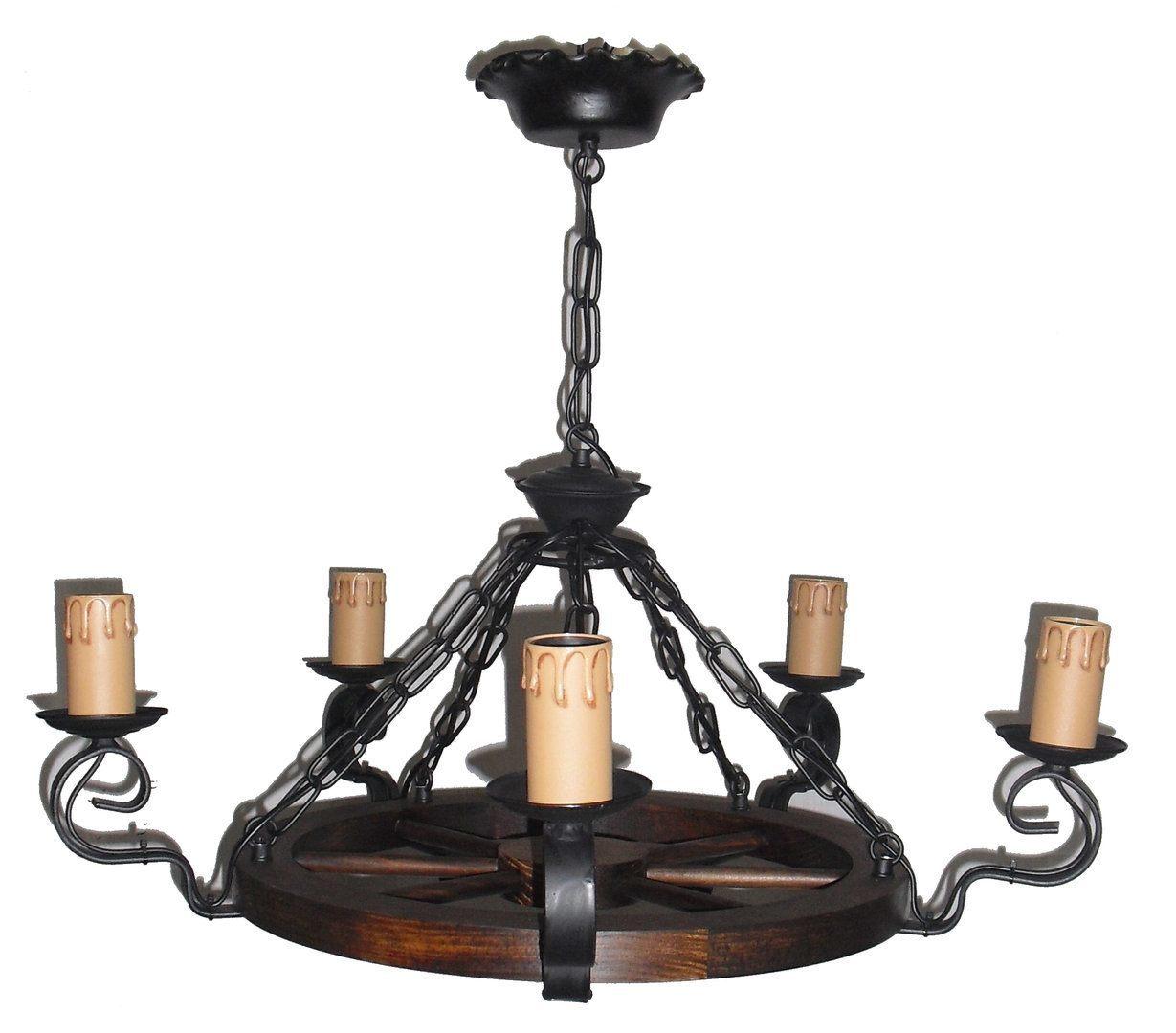 Elegir l mparas de techo r sticas - Lamparas estilo rustico ...