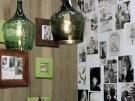 La moda de las lámparas de vidrio